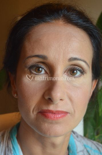 Makeup sposa natural colours