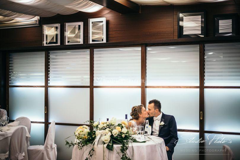 Sala tavolo sposi