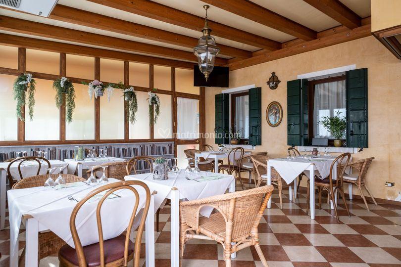 Interno ristorante Veranda