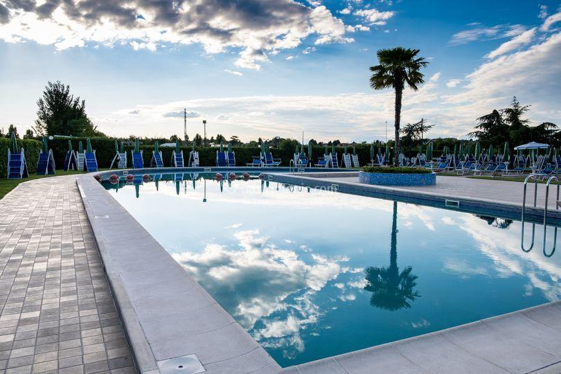 Zona eventi piscina