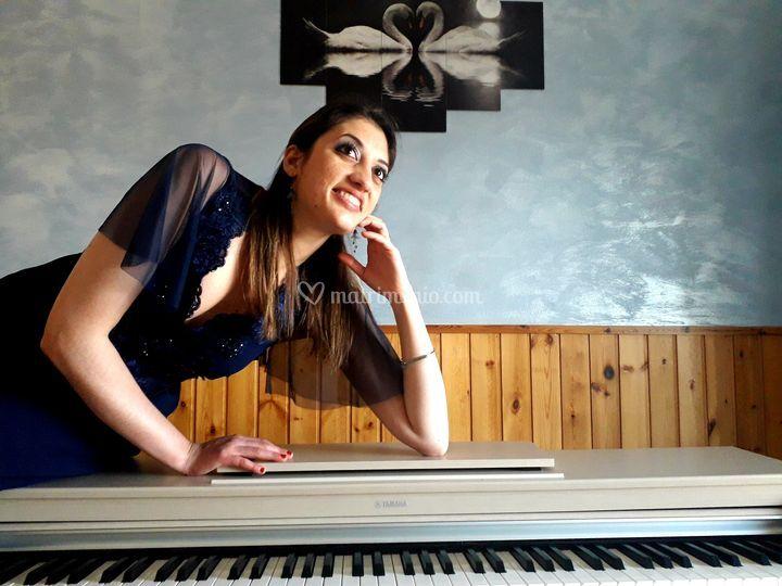 Il mezzosoprano e pianista