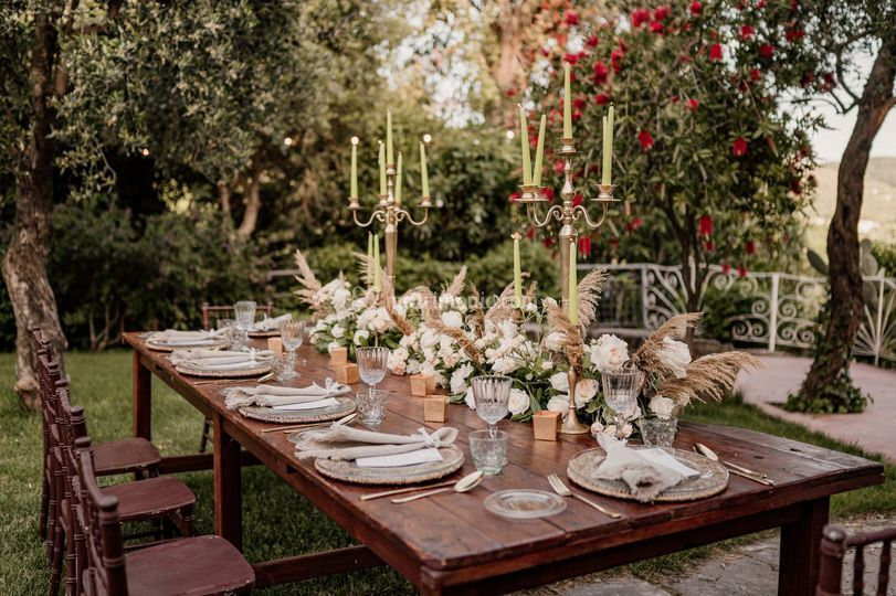 Matrimonio bohochic al Garden