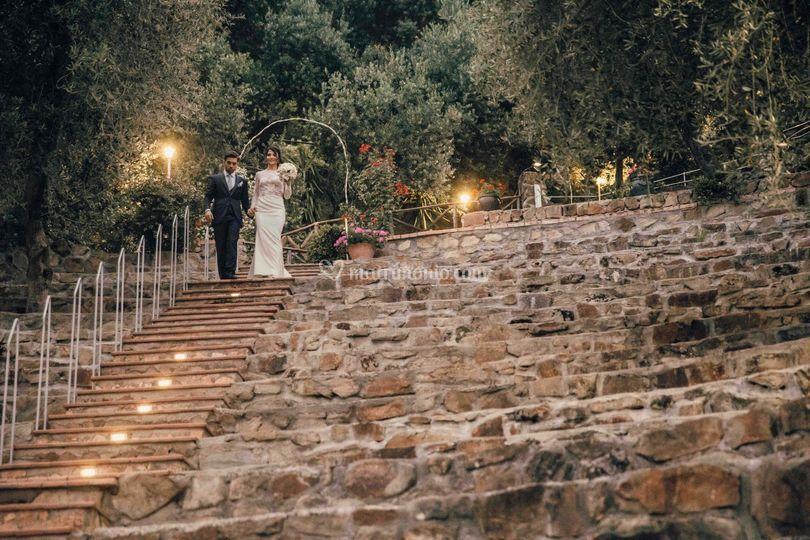 Sposi in anfiteatro