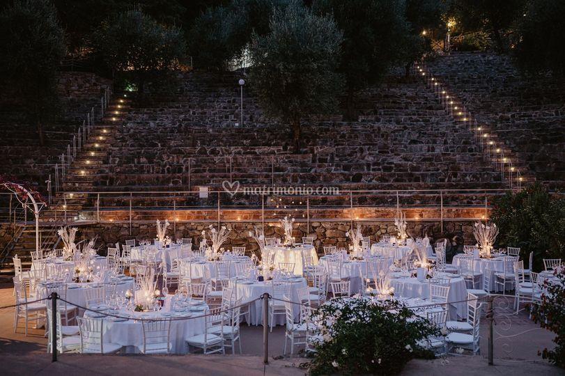Cena in Anfiteatro