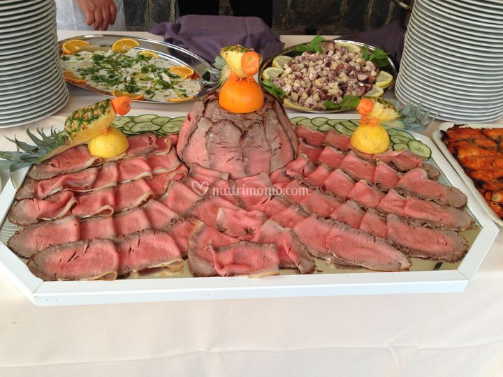 Antiche Terme buffet