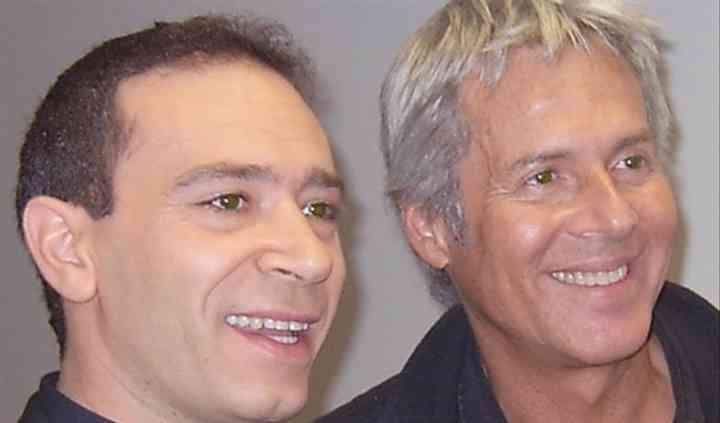 Con Claudio Baglioni