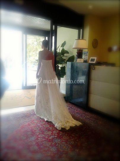 Un saluto radioso alla sposa