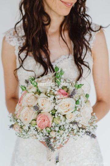 Matrimonio Country Chic Torino : Bouquet shabby chic di simmi floral designer foto 26