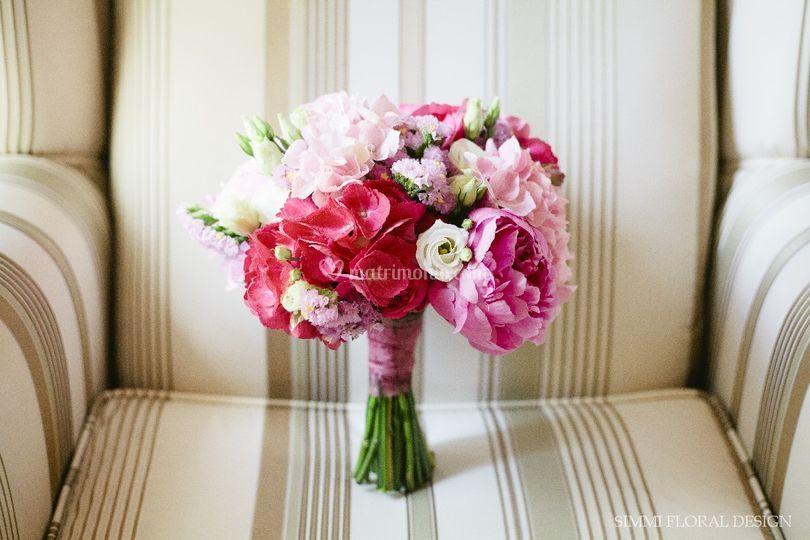 Bouquet Peonie ortensie