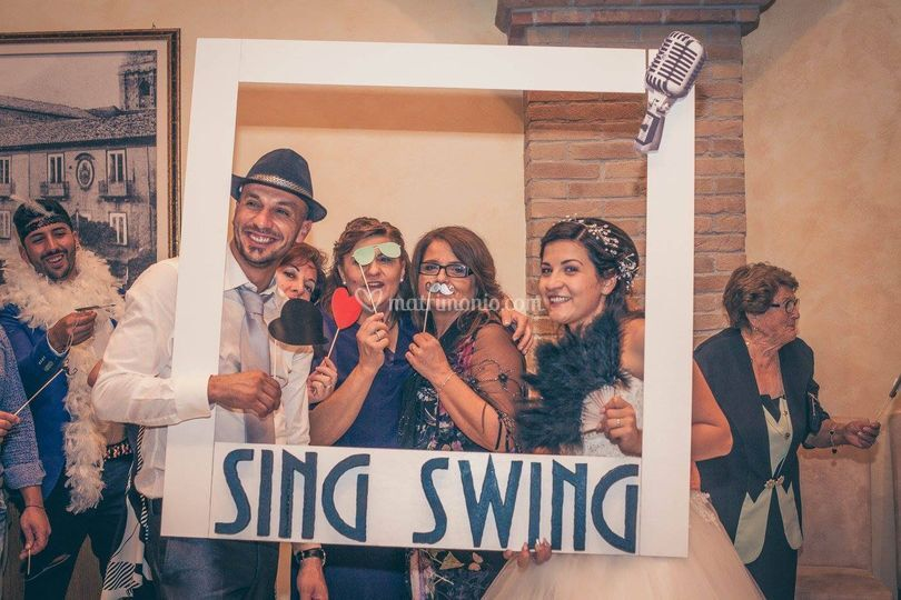 Sing Swing PhotoBooth Corner