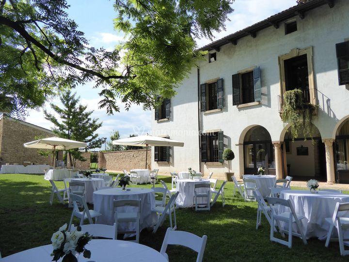 Matrimonio giardino sud