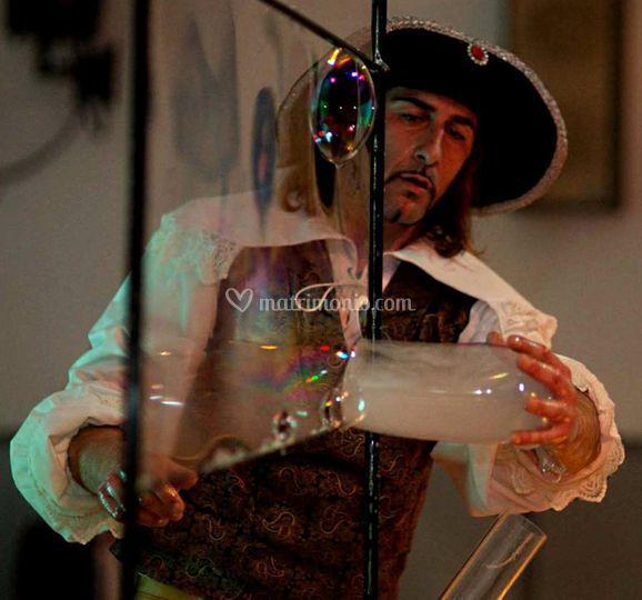 D'Artagnan Il Mago delle Bolle