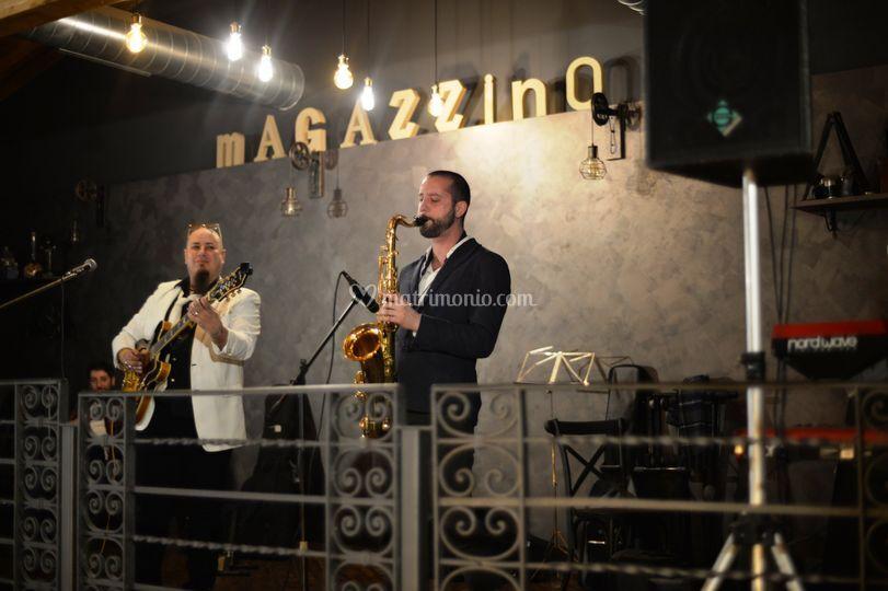 Duo con sax