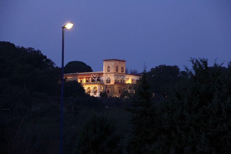 Esterni Villa di sera