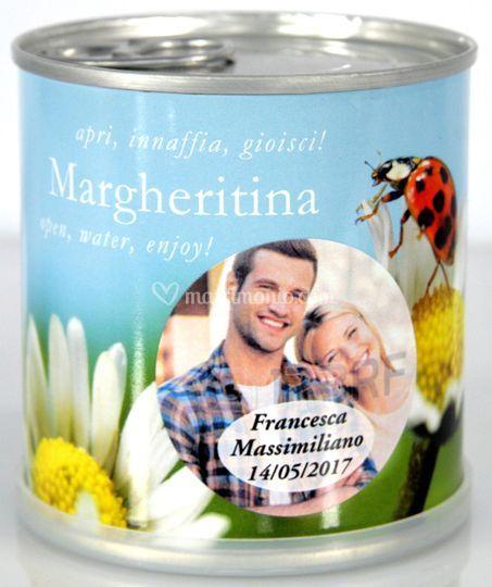 Bomboniere Margherita con foto