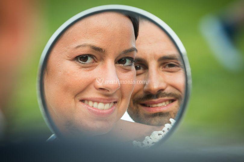 Sposi in cornice