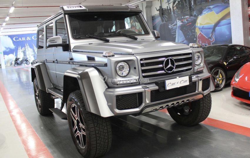 Mercedes 4x4 al quadrato