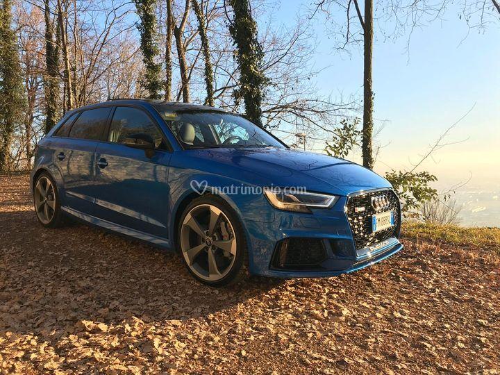 Audi RS3 matrimonio