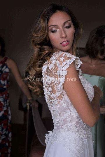 Bridal makeup photoshooting