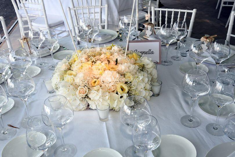 Allestimenti tavoli