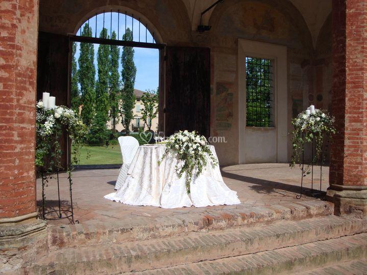 Rocca isolani for Sala degli sposi