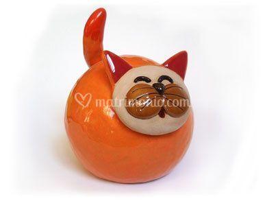 Gatto sfera a campanella