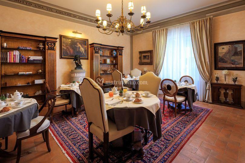 Sala colazioni - pranzi