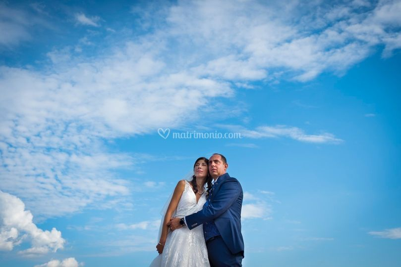 Sposi nel blu