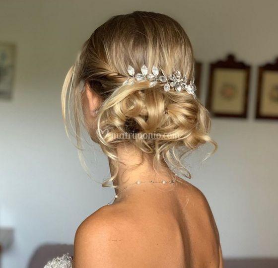 Blond Chignon
