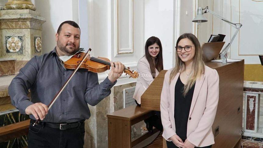 Raffaele, Francesca e Sara
