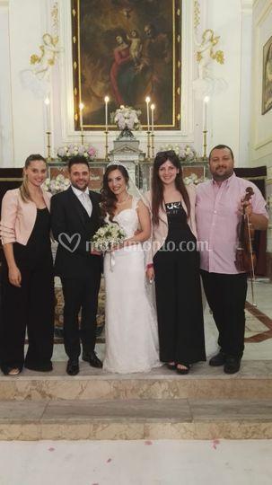 Teresa e Salvatore sposi!