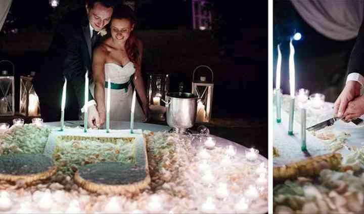 Taglio torta personalizzato