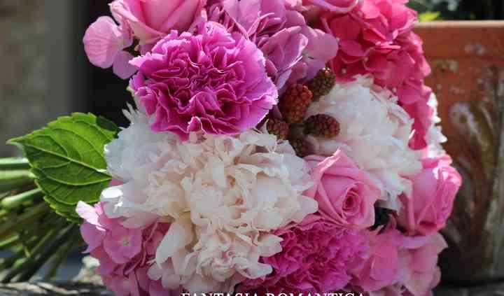 Bridal bouquet peonie