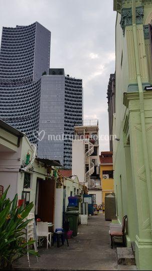 Il vecchio e il nuovo a Singap