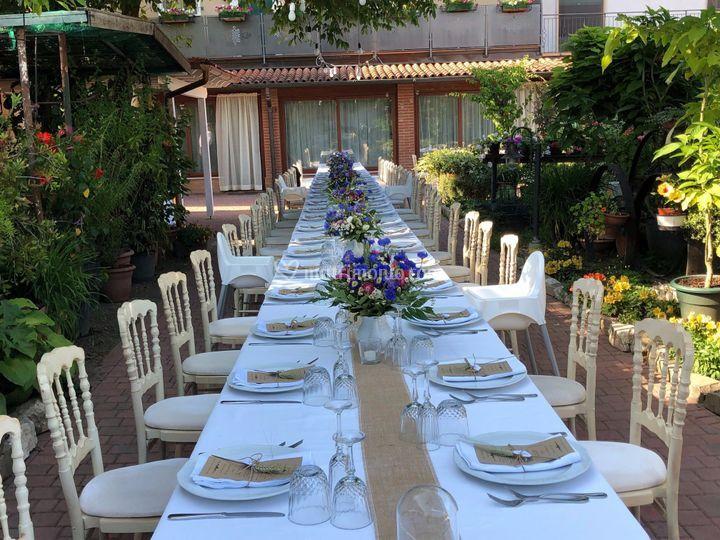 Tavolo reale a domicilio