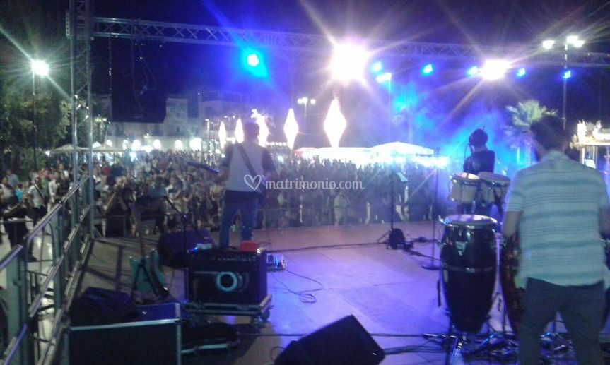 On stage (Sciacca 2016)