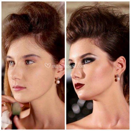 Make - up beauty da sera