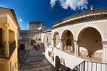 Corte esterna di Castello di Altomonte