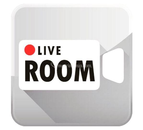 Live Room Visual Graphic