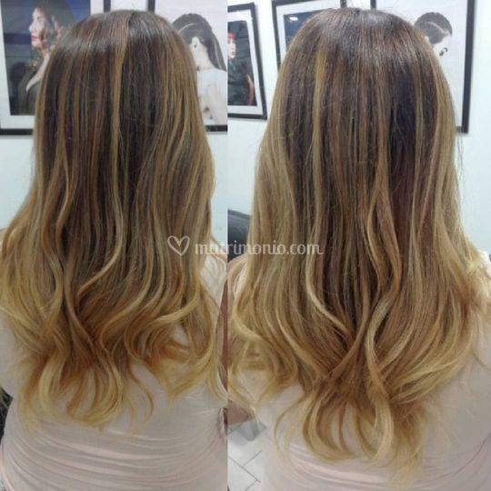 Blond wave