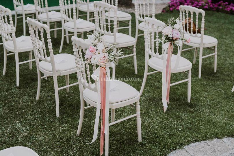 Sedute invitati cerimonia