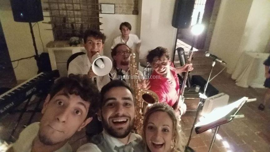 Selfie super Fabio ed Emanuela