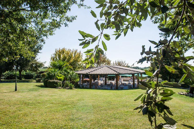 Chiosco interno Villa Uno ()