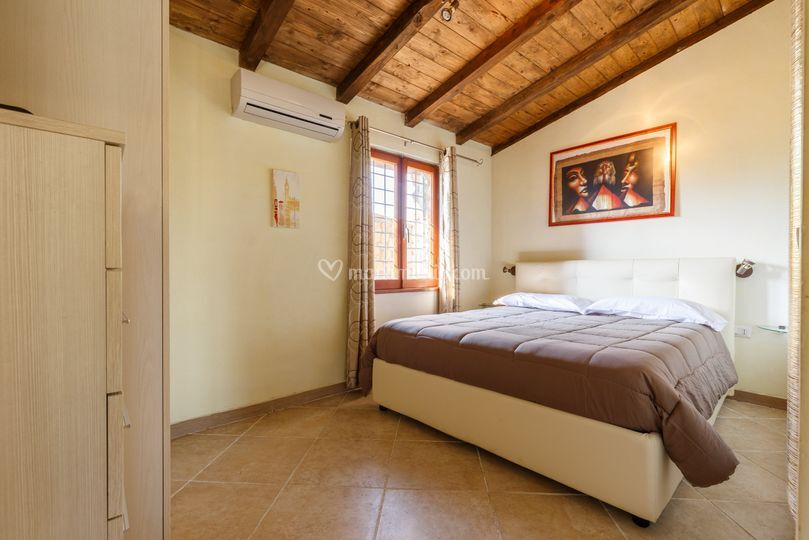 Le camere del Bed&Breakfast
