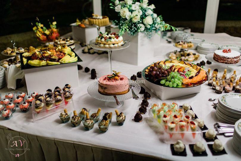 Buffet Di Dolci E Frutta : Buffet freschi di frutta e verdura feste e compleanni