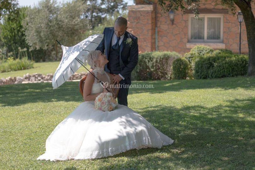 Sposi in Villa Valente Uno