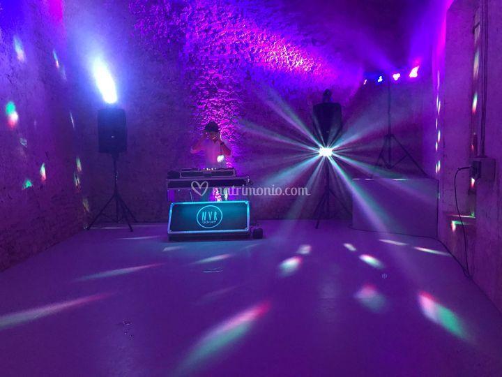 Illuminazione dancefloor