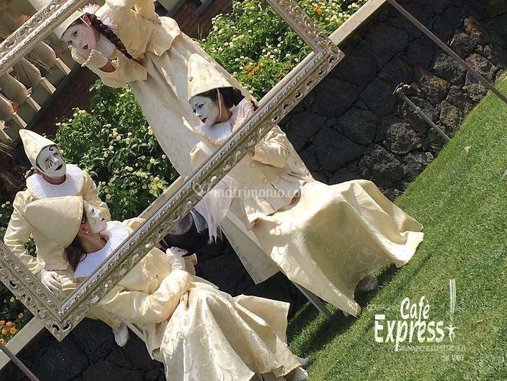 Cafè Express animazione, musica, spettacoli