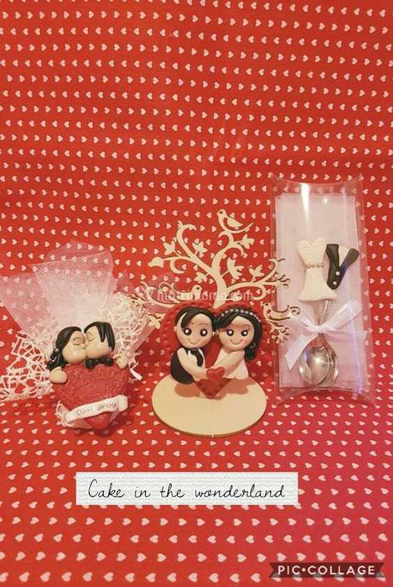 Segnaposto Matrimonio In Fimo.Bomboniere Matrimonio In Fimo Di Cake In The Wonderland Foto 22