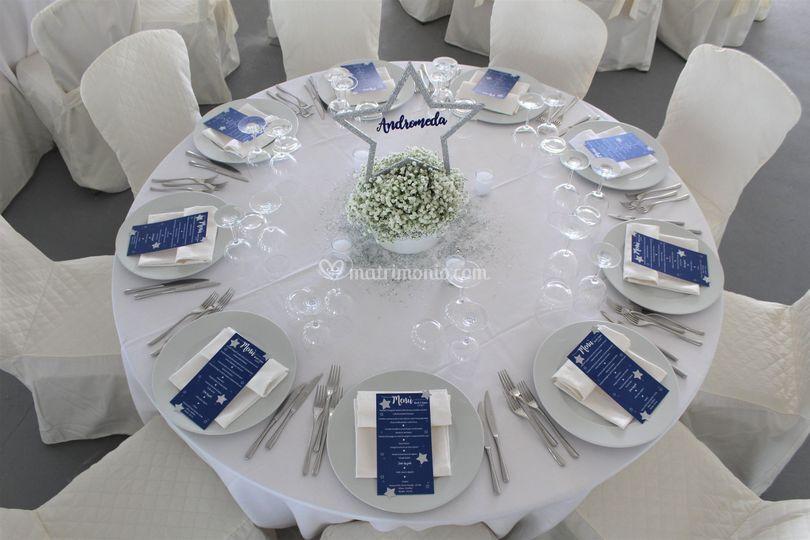 Matrimonio Tema Costellazioni : Progetto idee
